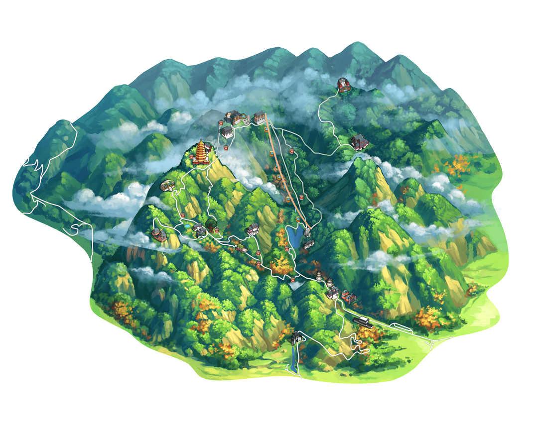 青城山旅游导览图1 -min_副本